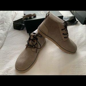 NWT UGG NEUMEL UNLINED LEATHER men Shoes. Size 11
